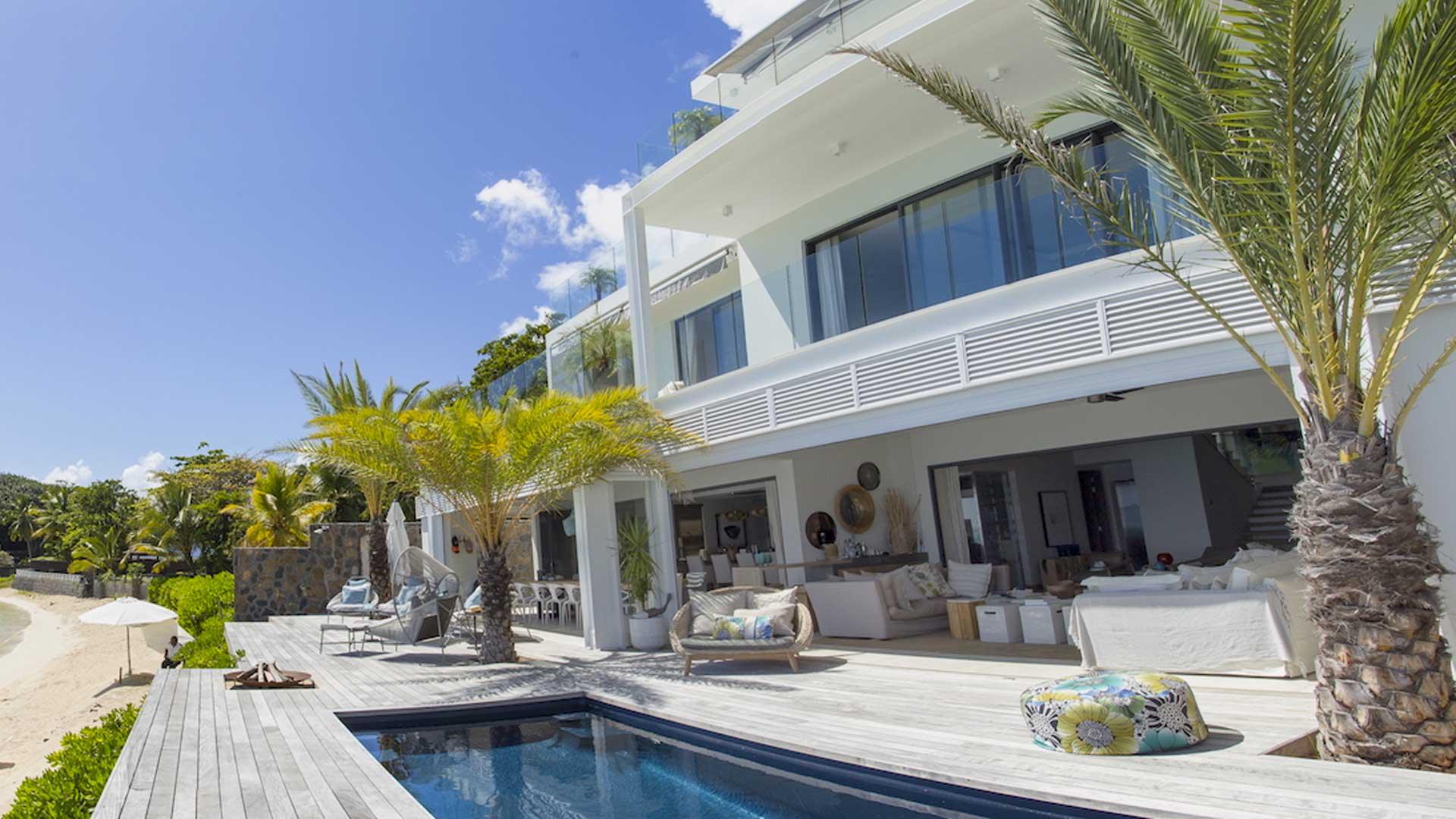 Villa royale villa rental in mauritius north grand baie for Villa royale