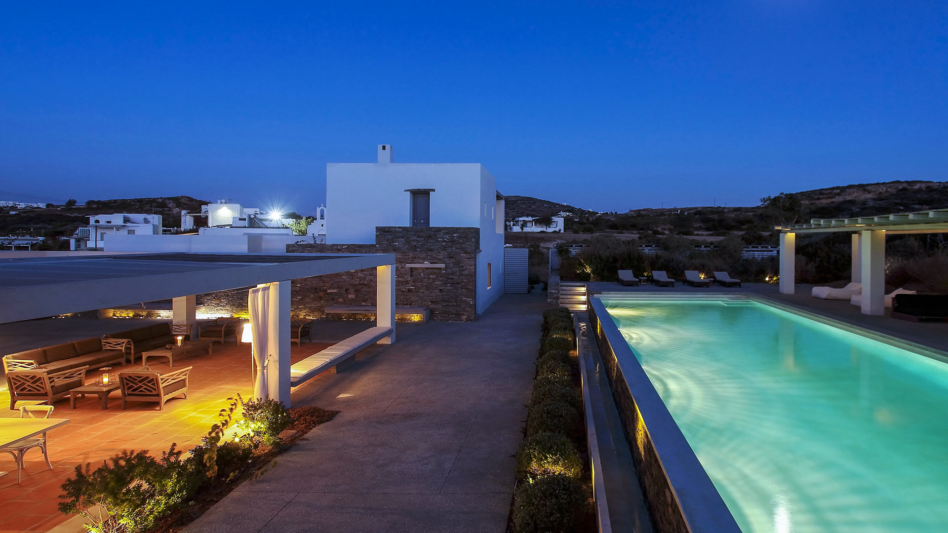 Villa Villa Naousa, Rental in Cyclades - Other islands