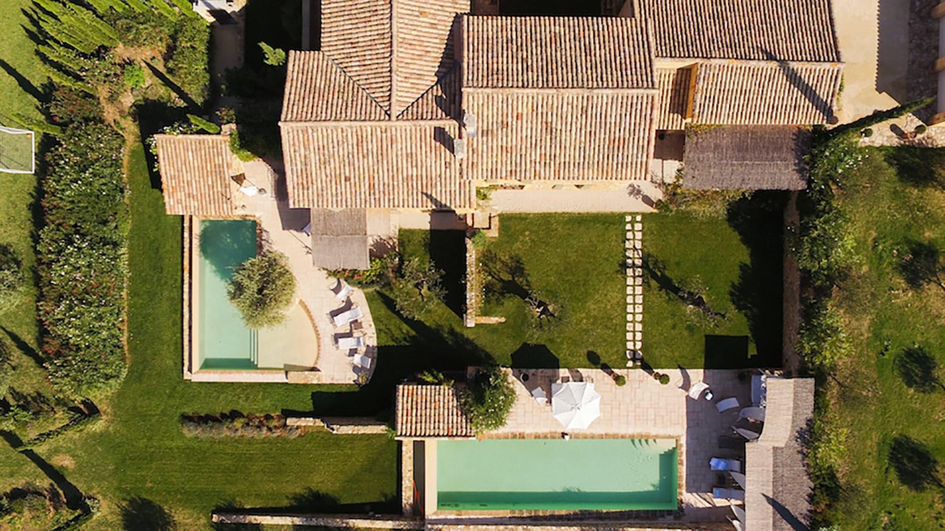 Villa Le Mas de Foussargues, Location à Provence