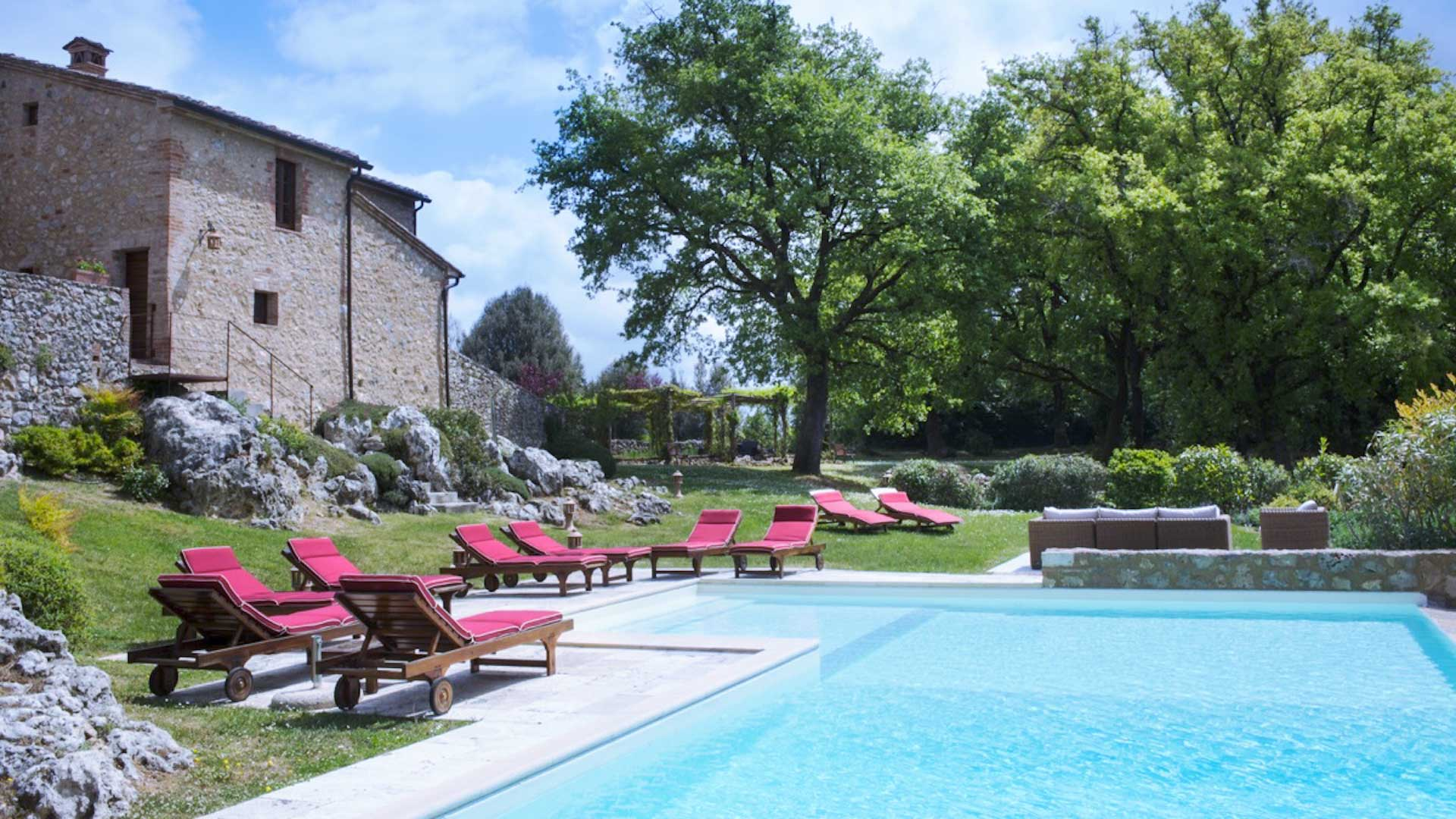 Villa Villa del Campo, Location à Toscane