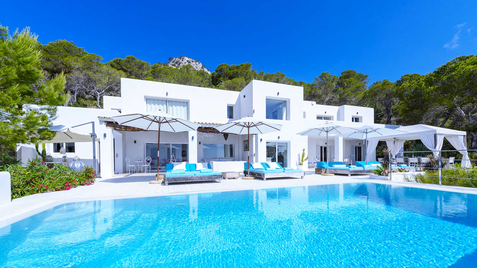 Villa Villa White Angel, Location à Ibiza