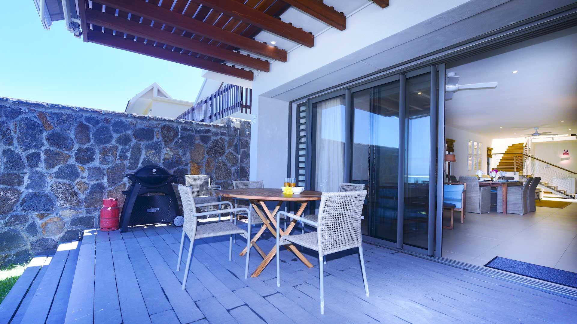 Villa Blue Beach House, Rental in Mauritius South East