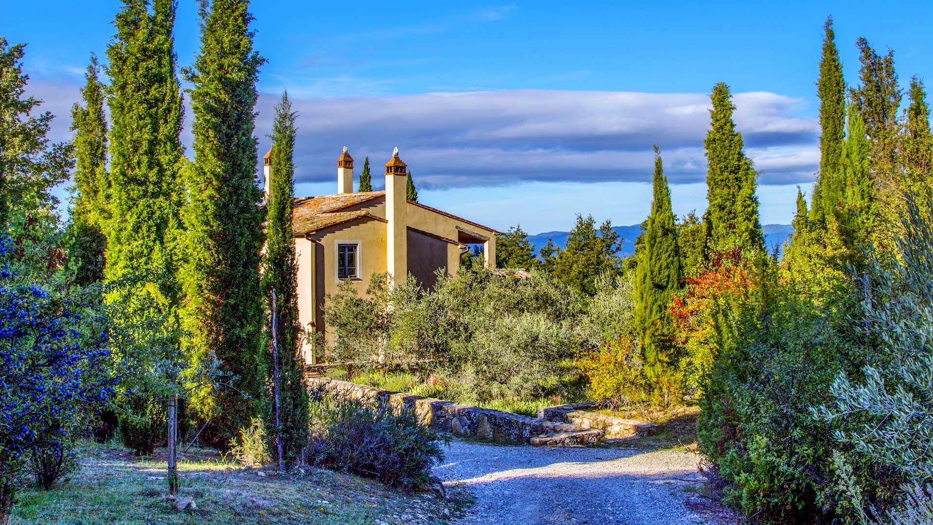 Villa Villa Cetona, Location à Ombrie