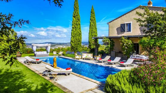 Villa Villa Cetona, Rental in Umbria
