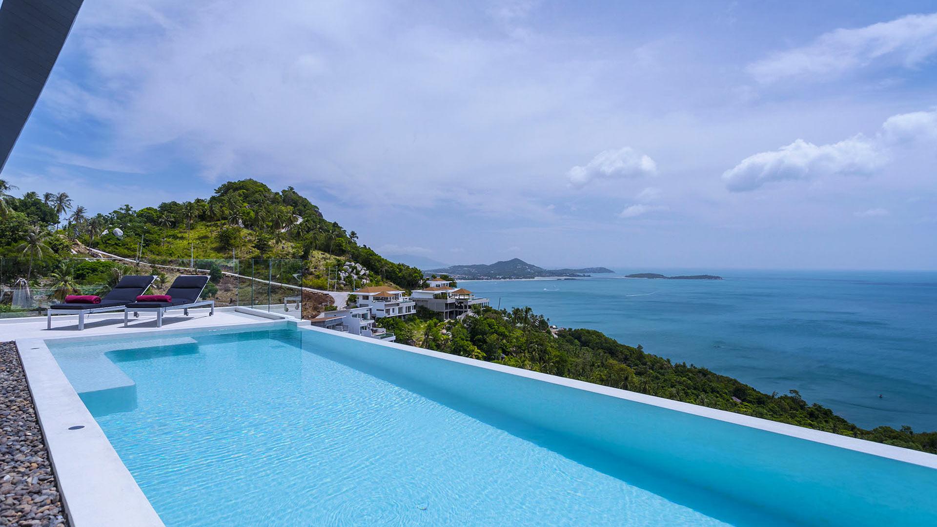 Villa Loft villa, Location à Koh Samui