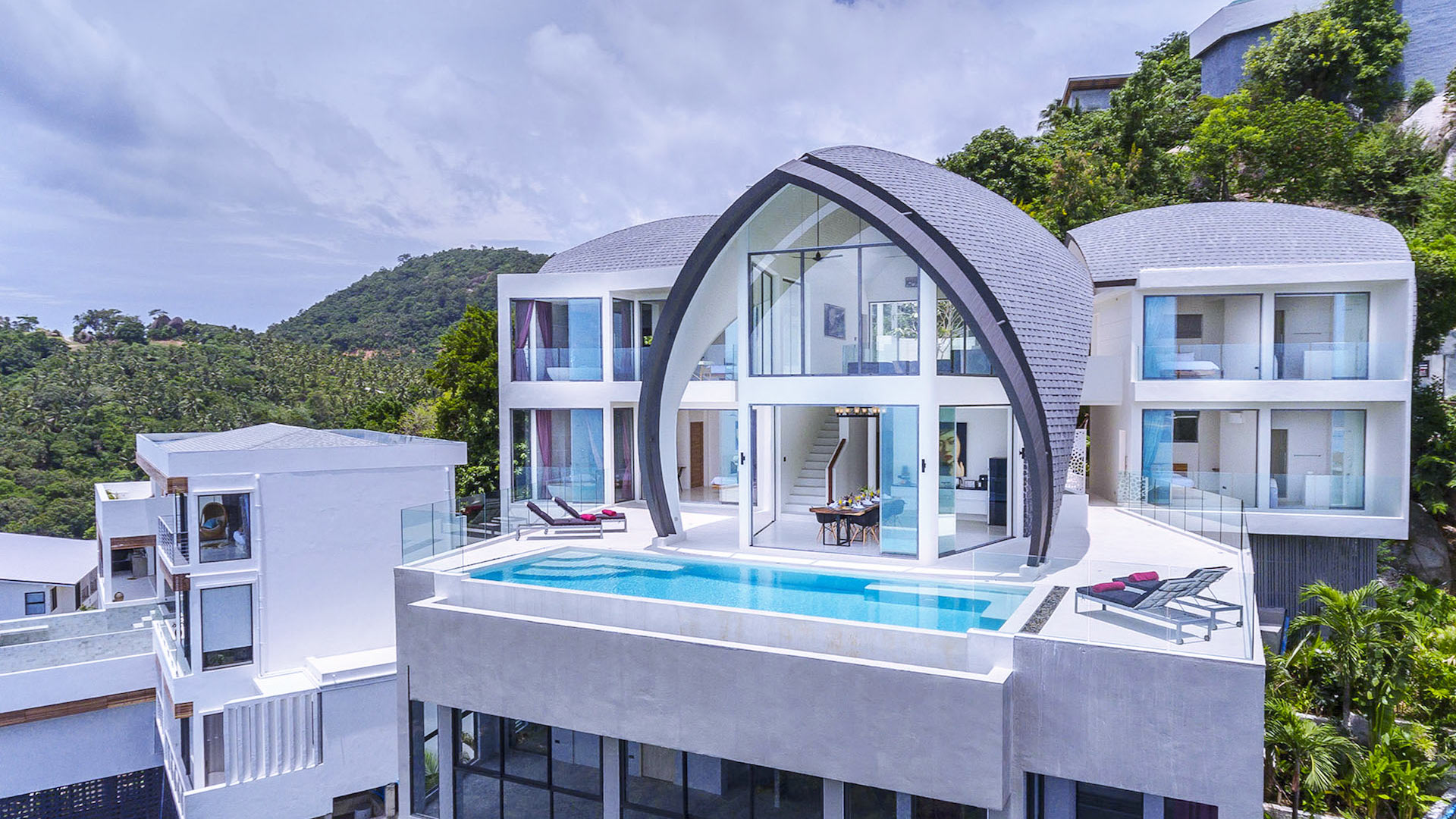Loft villa villa in affitto a koh samui chaweng villanovo for Loft roma affitto