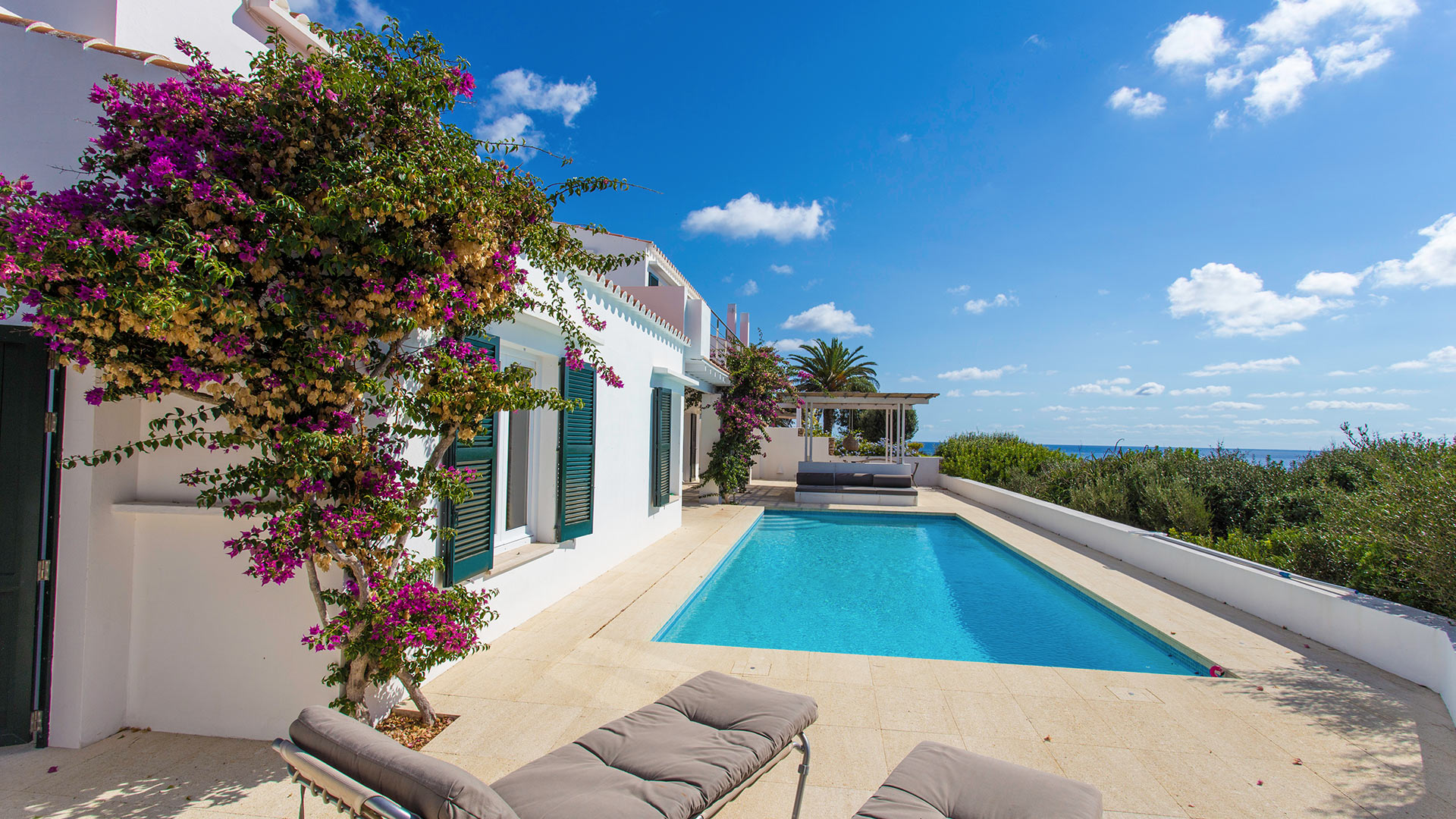 Villa Villa del Este, Location à Minorque