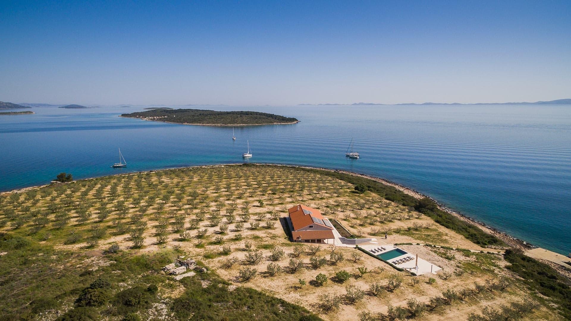 Villa Villa Kornati, Location à Dalmatie