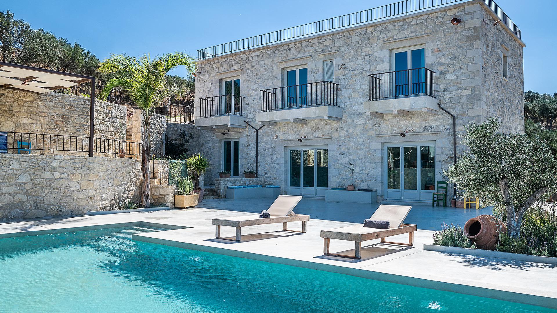 photos de la villa falasarna crete villanovo. Black Bedroom Furniture Sets. Home Design Ideas