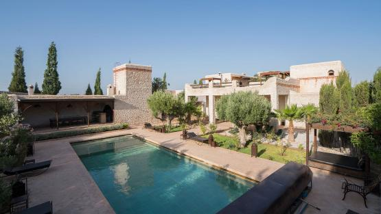 Villa Riad Dharma, Location à Essaouira