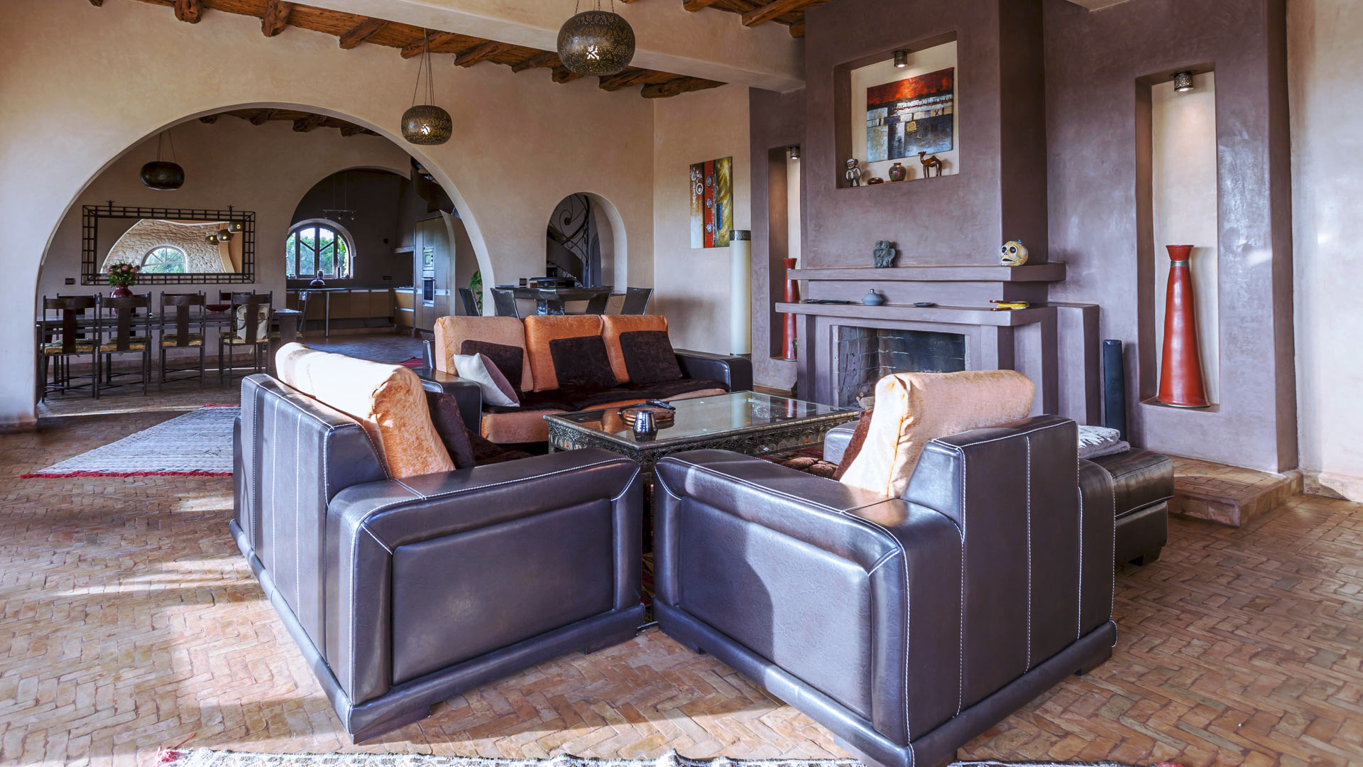Fotos von der Villa des Romarins in Essaouira   Villanovo