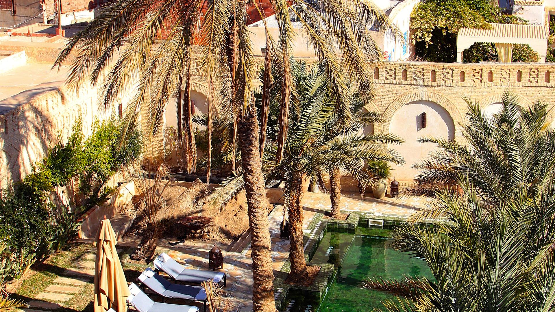 Villa Dar Tozeur, Rental in South Tunisia