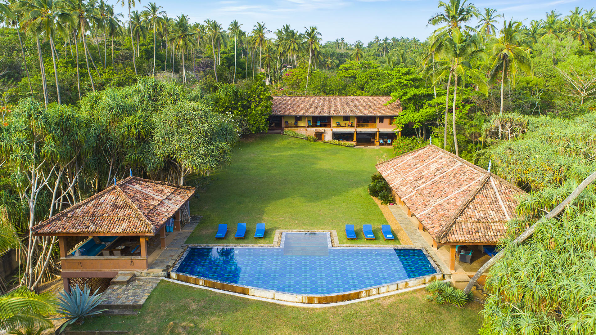 Villa Villa Palm Blue, Location à Tangalle