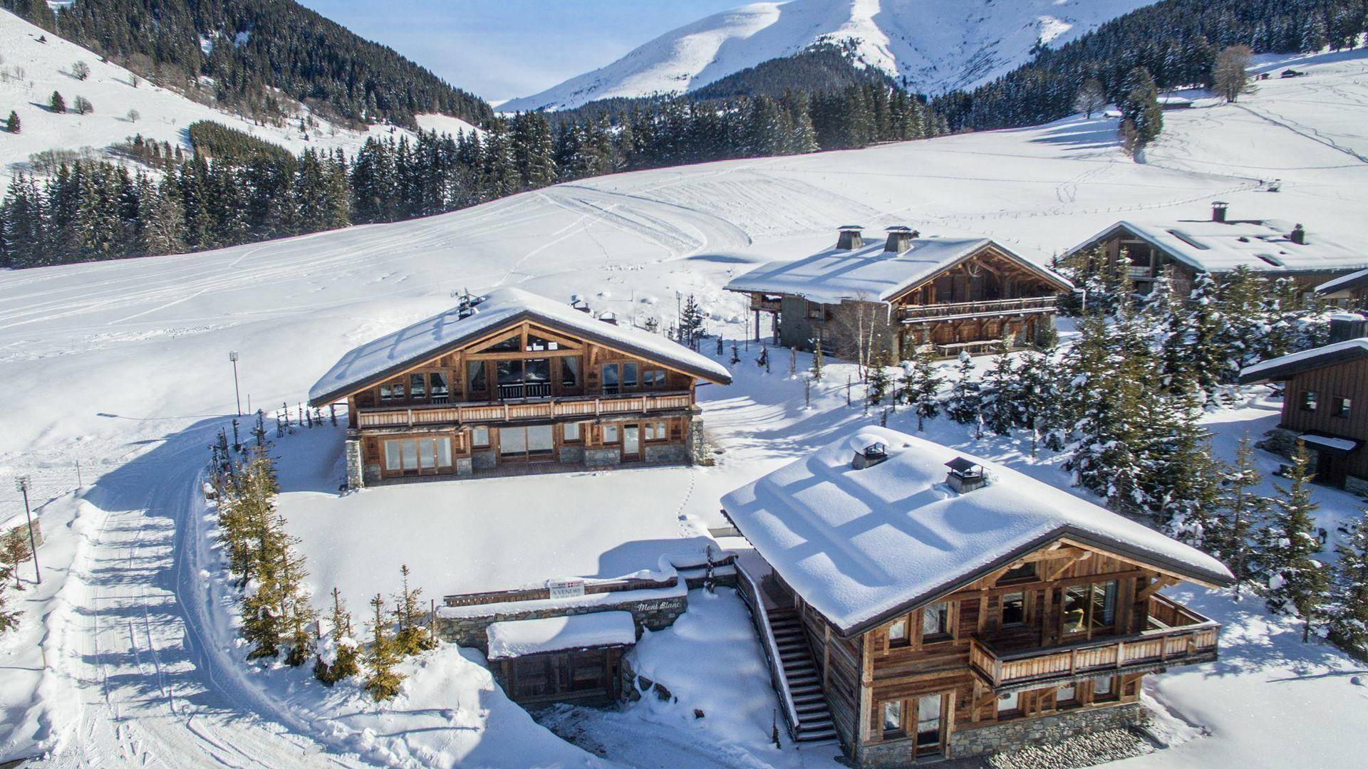 Villa Chalet Double White, Location à Alpes du Nord