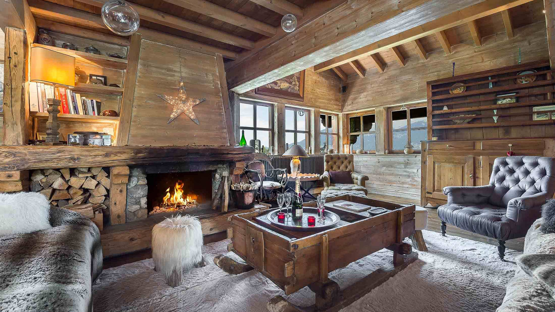 Villa Chalet Foliak, Location à Alpes du Nord