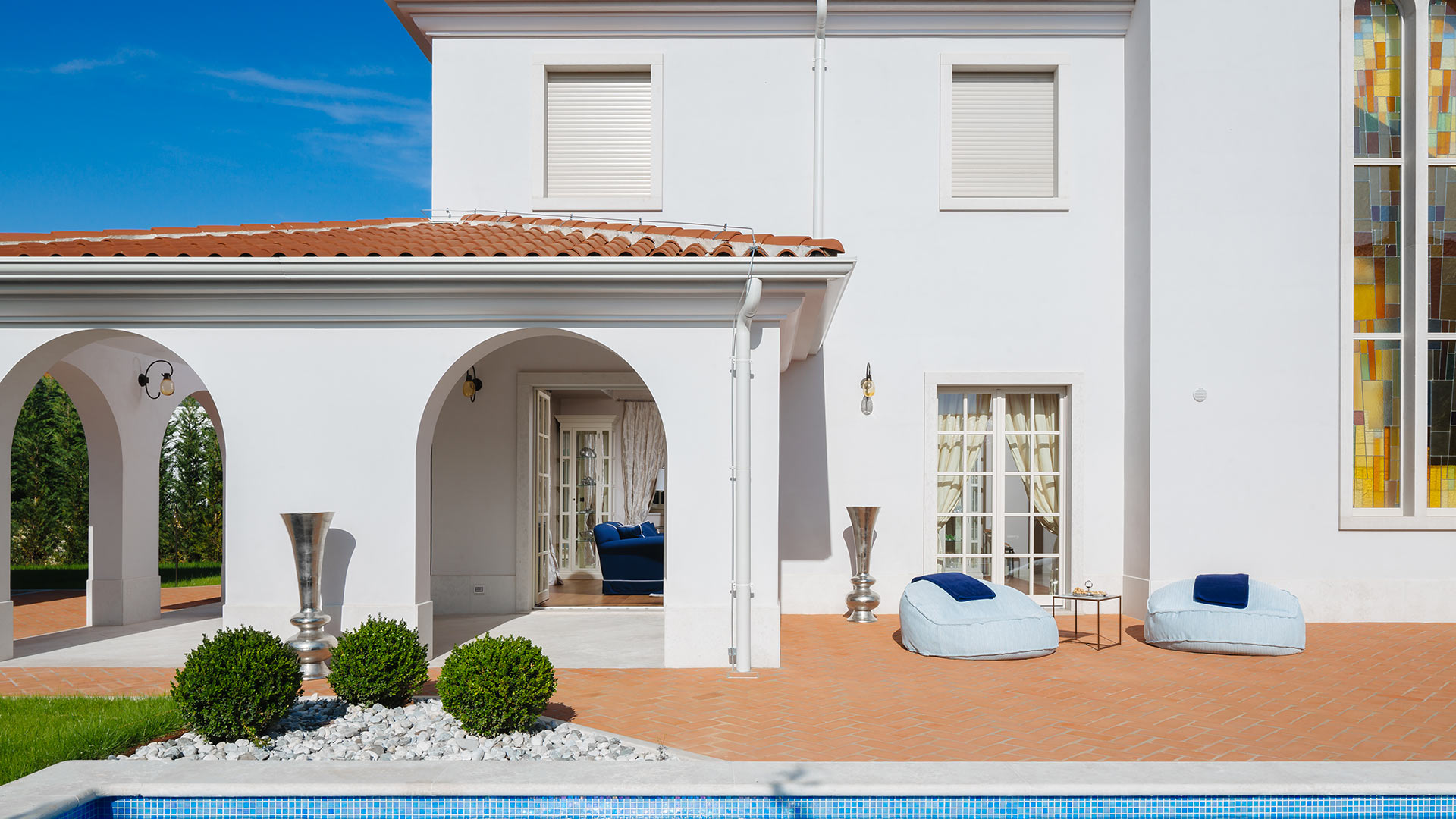 Villa Villa Croccia, Location à Istria