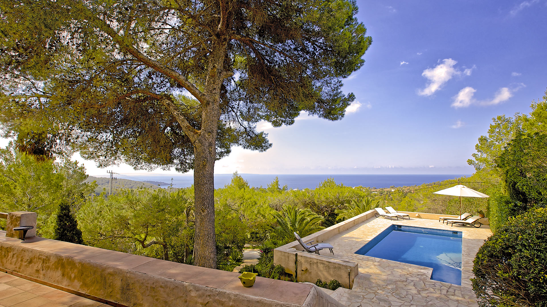 Villa Bellavista, Location à Ibiza