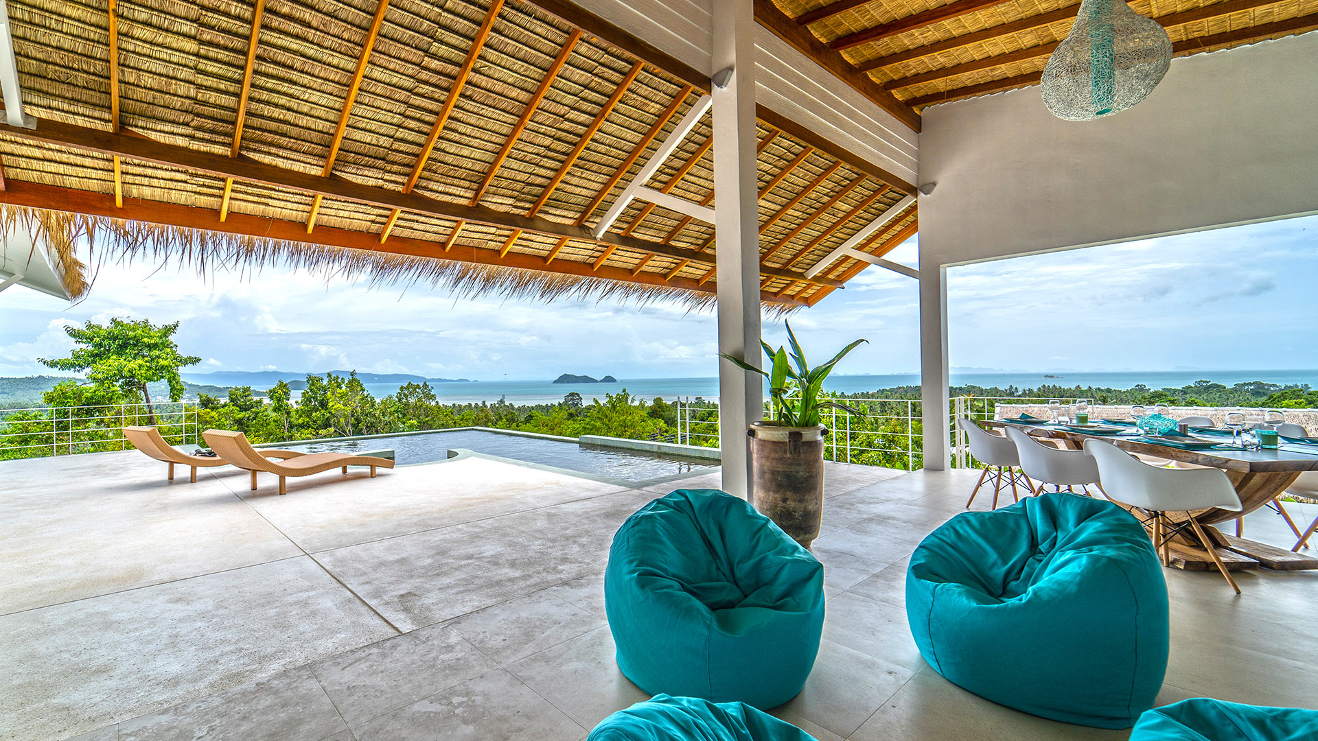 Villa Villa Dinala, Location à Koh Phangan