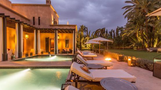 Villa El Jenna, Location à Marrakech