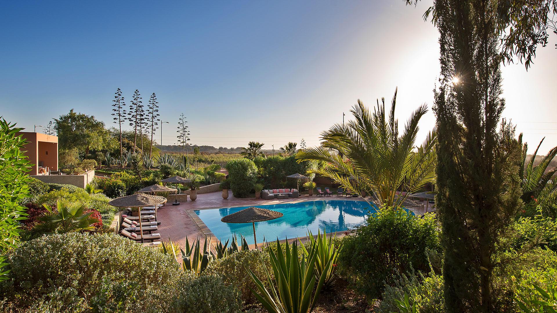 Villa Dar Maktoub, Location à Agadir