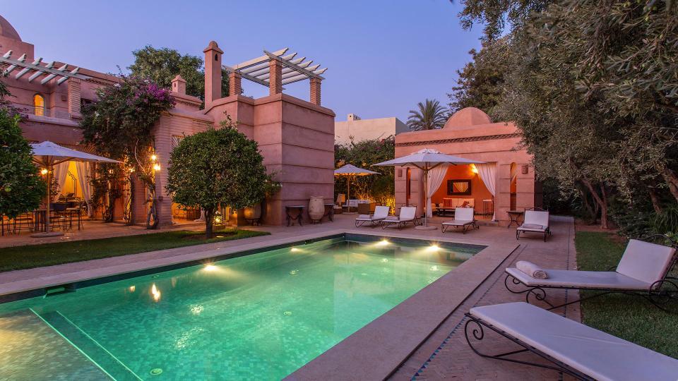 Villa Dar Zarra, Location à Marrakech