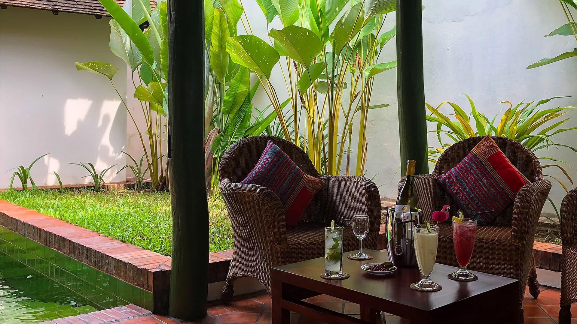 Villa Villa Lassana, Location à Luang Prabang