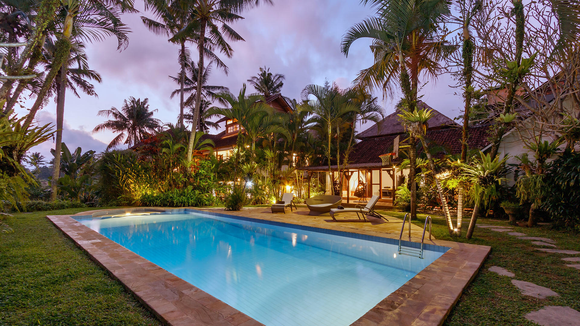 Villa Villa Splendid, Location à Bali