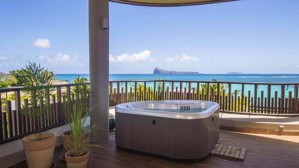 Villa Penthouse Cap Soleil, Rental in Mauritius North