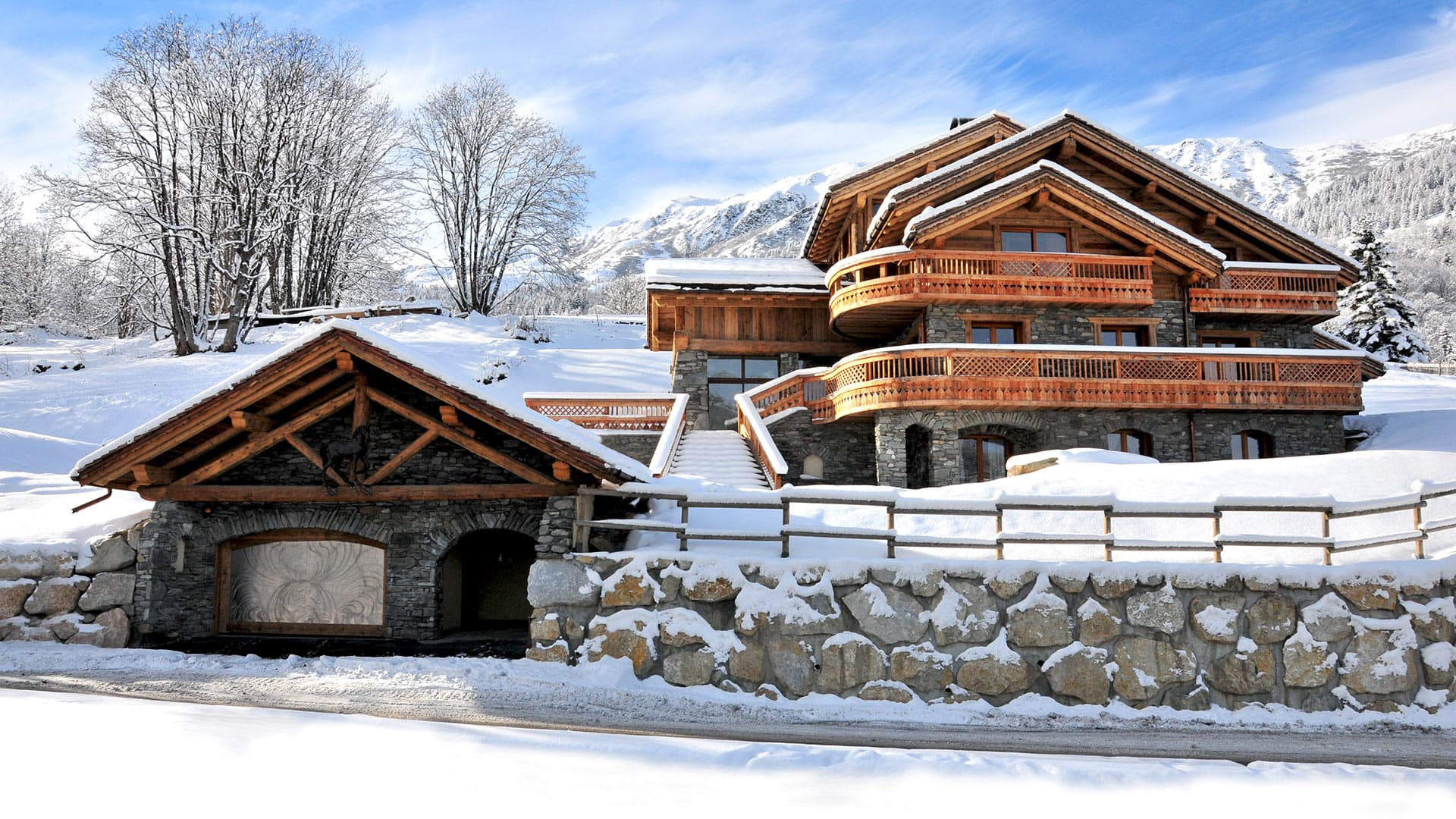 Villa Chalet King Horse, Location à Alpes du Nord