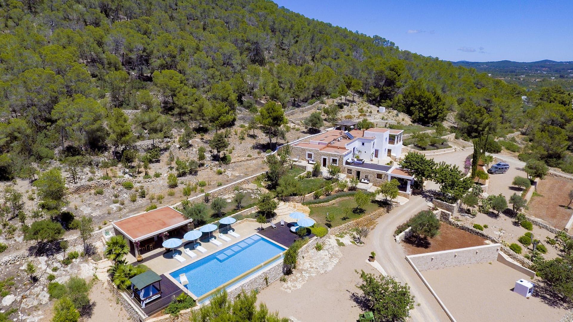 Villa Villa Sa Vorera, Rental in Ibiza