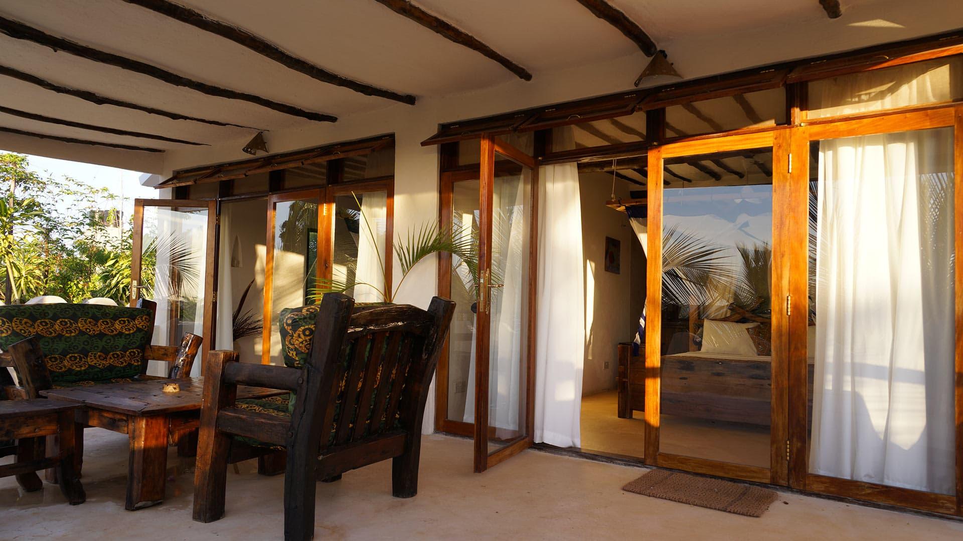 Villa Villa Kitsu, Location à Zanzibar