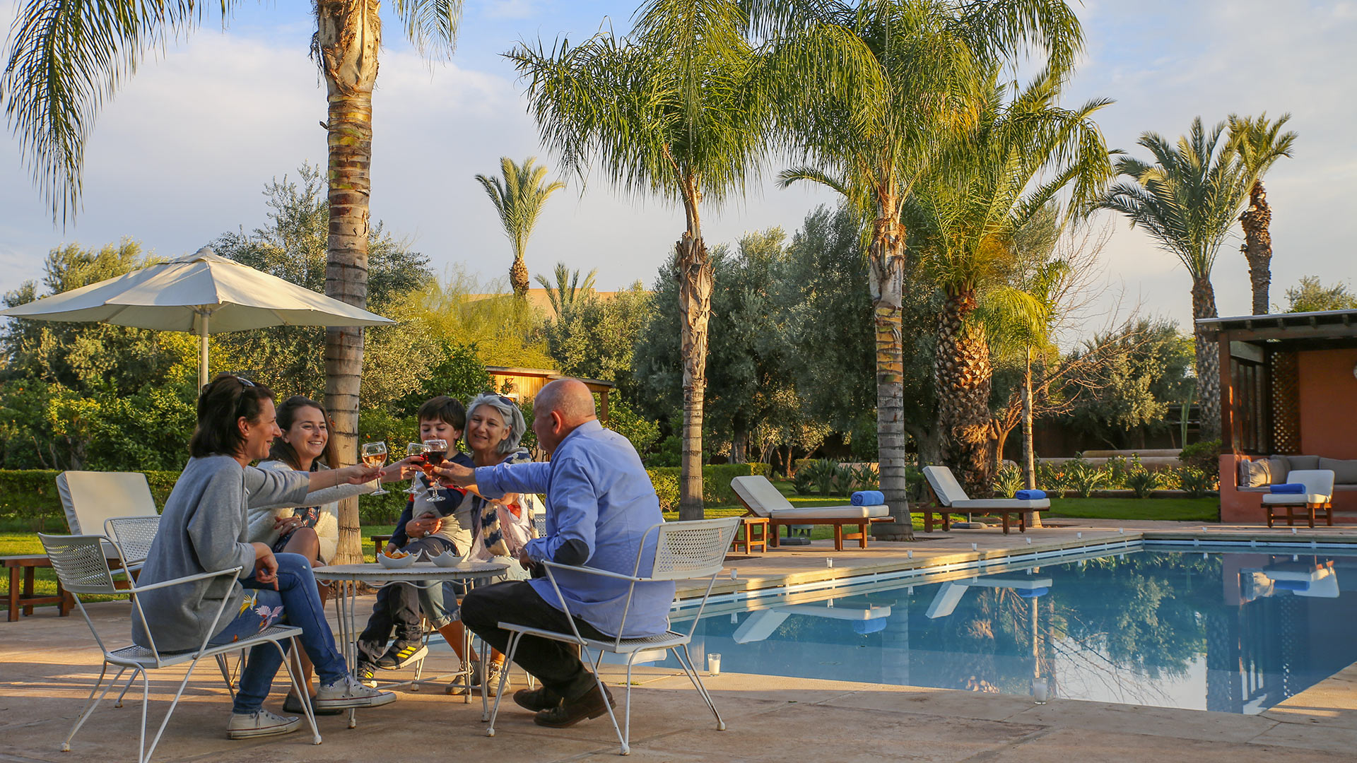 Villa Villa des Jardins & Lodges, Location à Marrakech