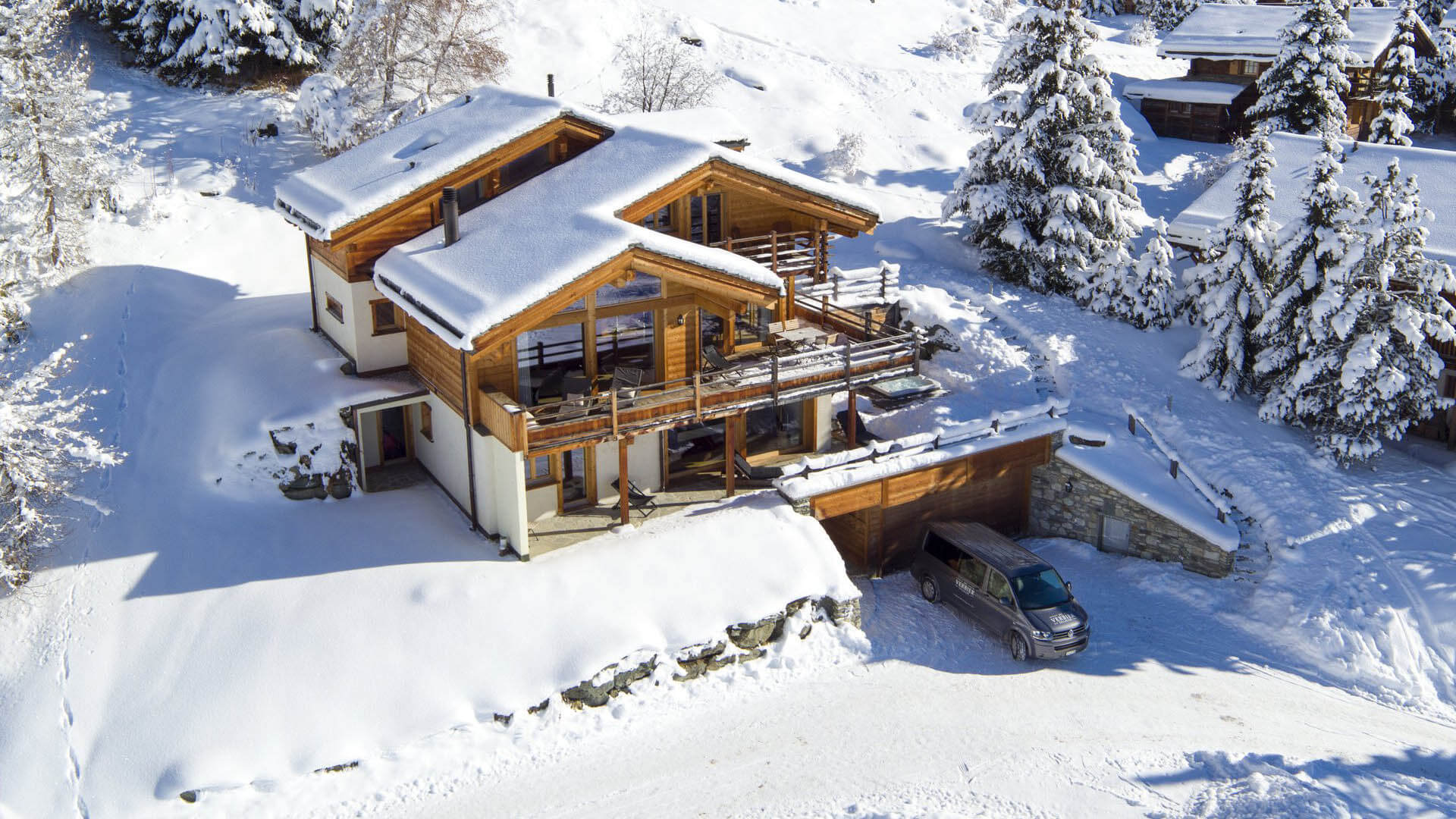 Villa Chalet Soprano, Location à Alpes suisses