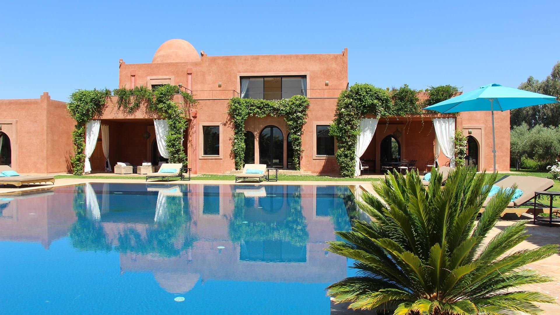 Villa Dar Badia, Location à Marrakech