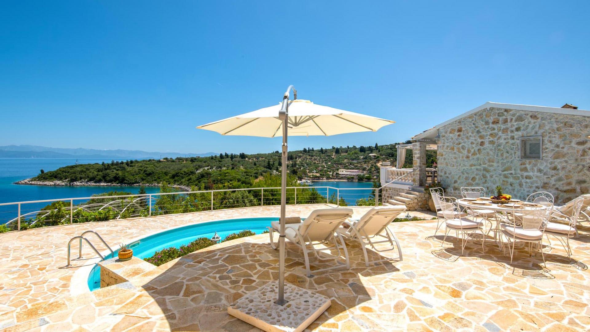 Villa Villa Edyliakos, Location à Mer Ionienne