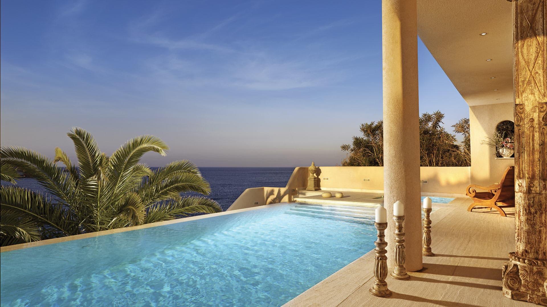 Villa Royal Villa, Location à Crete