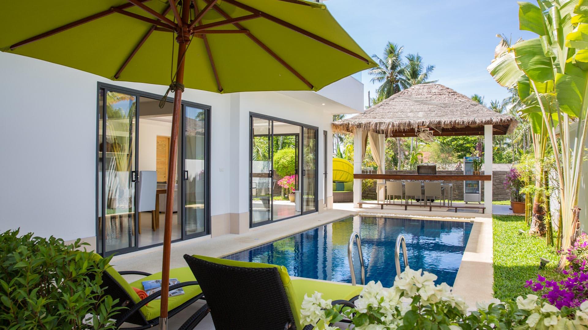 Villa Villa Pinatella, Location à Koh Samui
