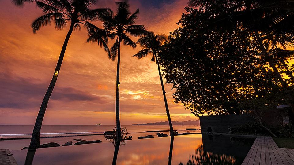 Villa Villa Manis Beachfront Candidasa, Rental in Bali
