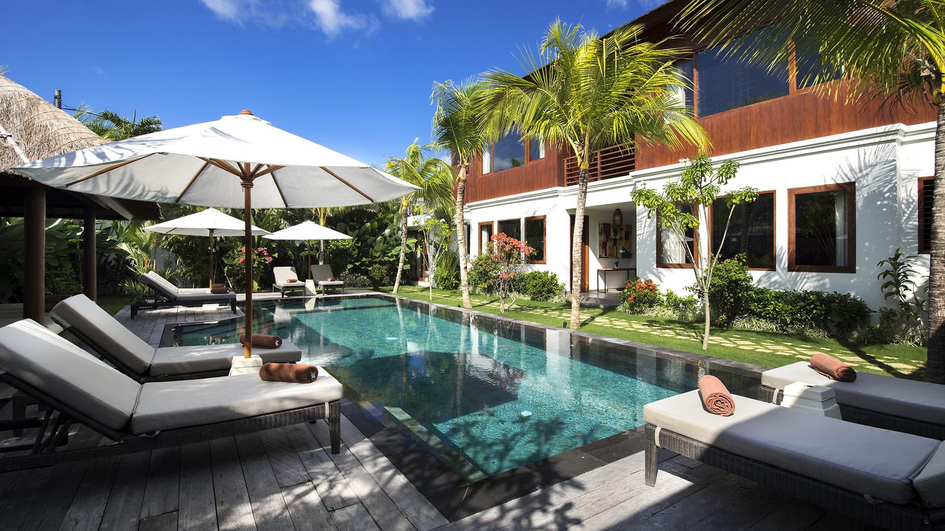 Villa Villa Tangram, Location à Bali