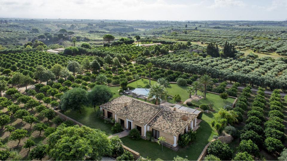 Villa Villa Vianutti, Location à Sicile