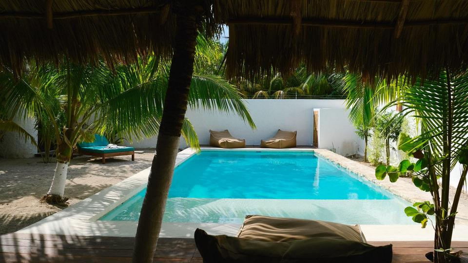 Villa Casa Blanca, Location à Yucatán