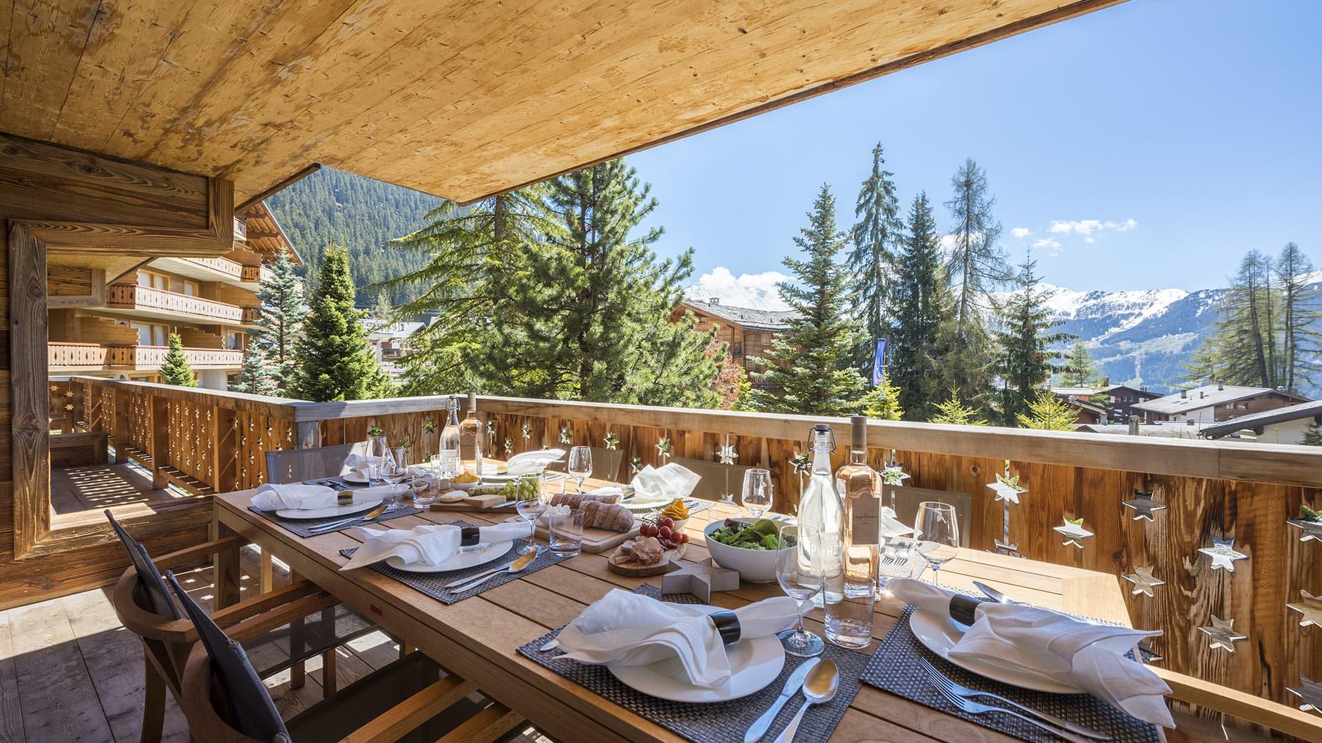 Villa Appartement Roseaux Blanc, Location à Alpes suisses