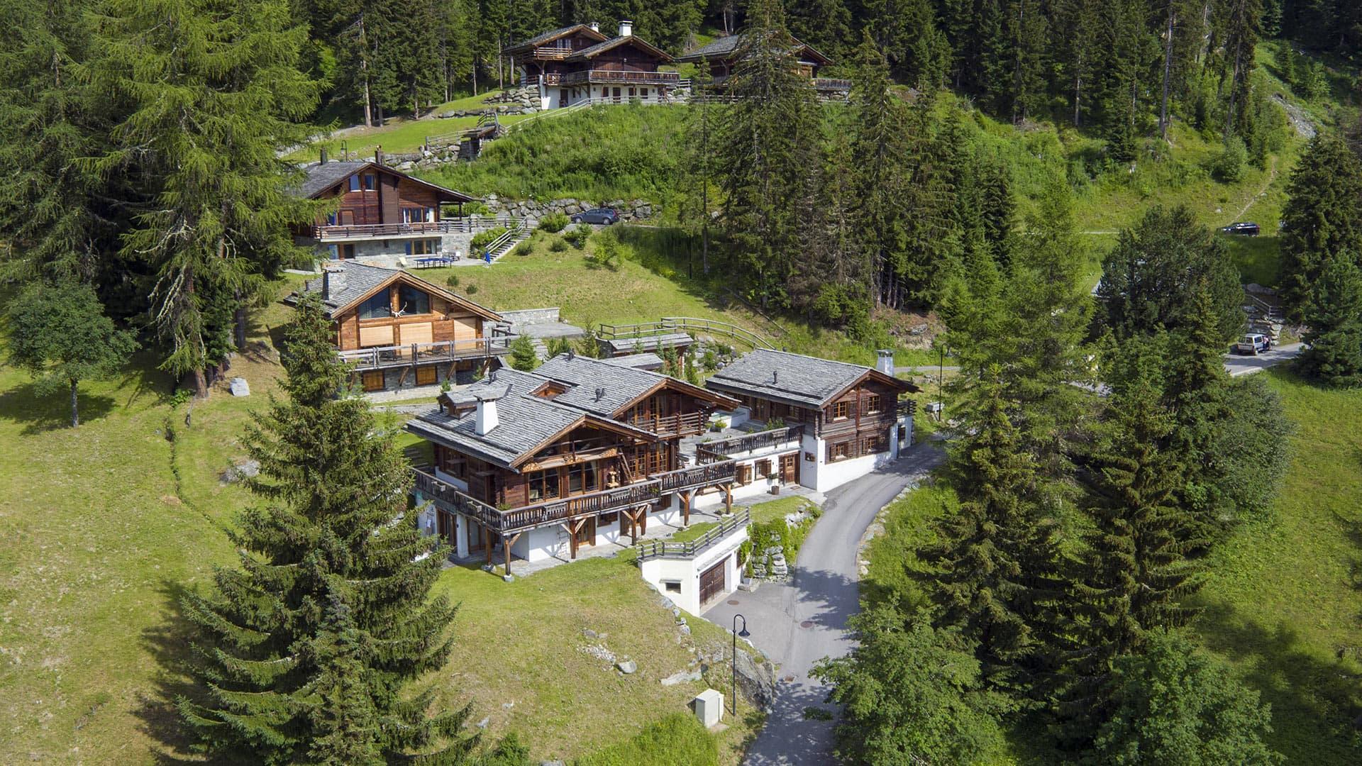 Villa Chalet Clambin, Location à Alpes suisses