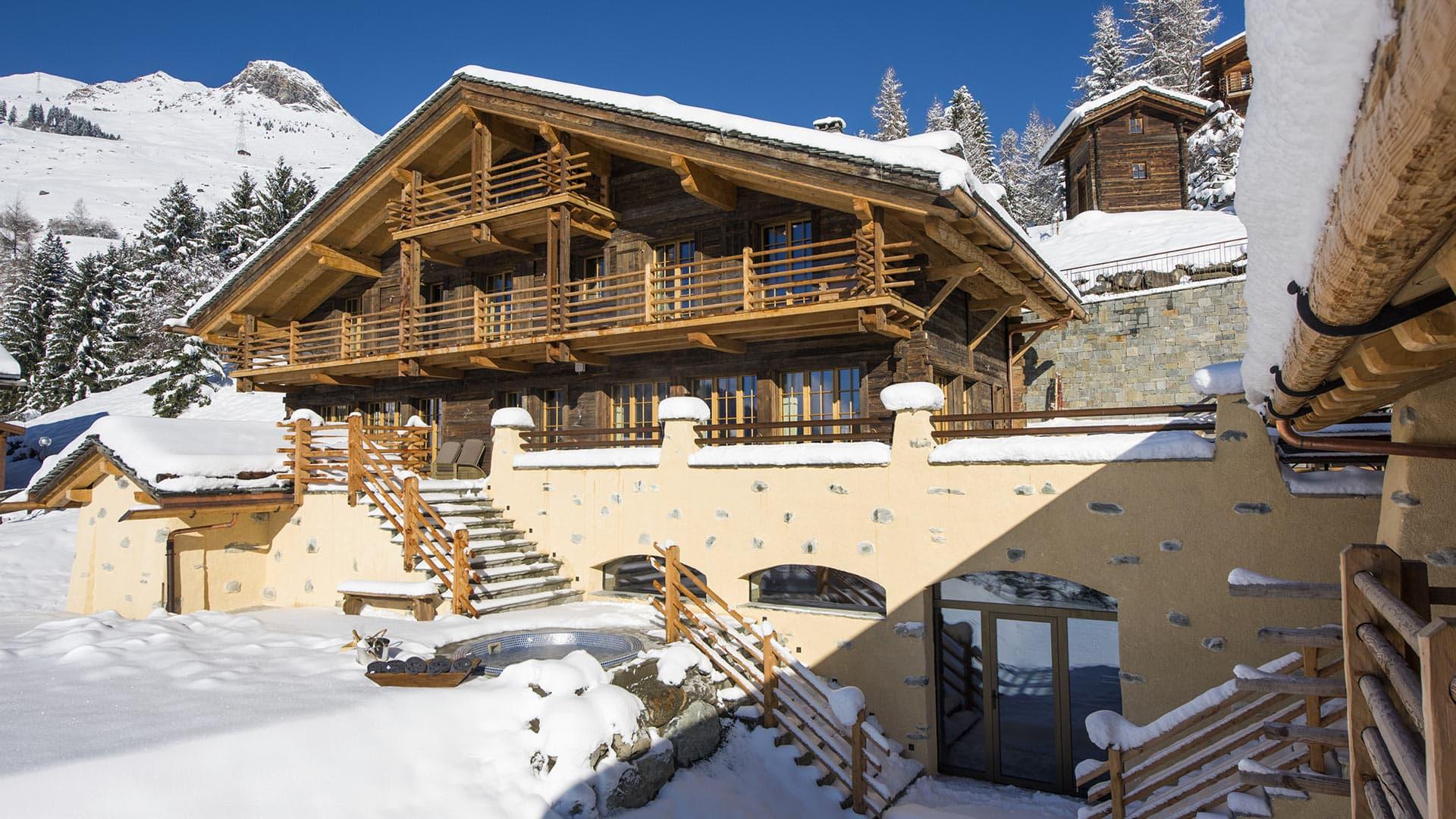 Villa Chalet On the Top, Location à Alpes suisses