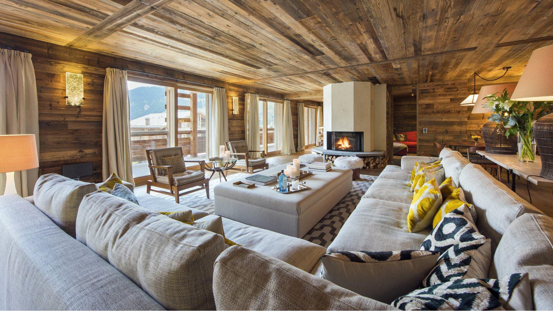 Villa Chalet Rustic, Location à Alpes suisses
