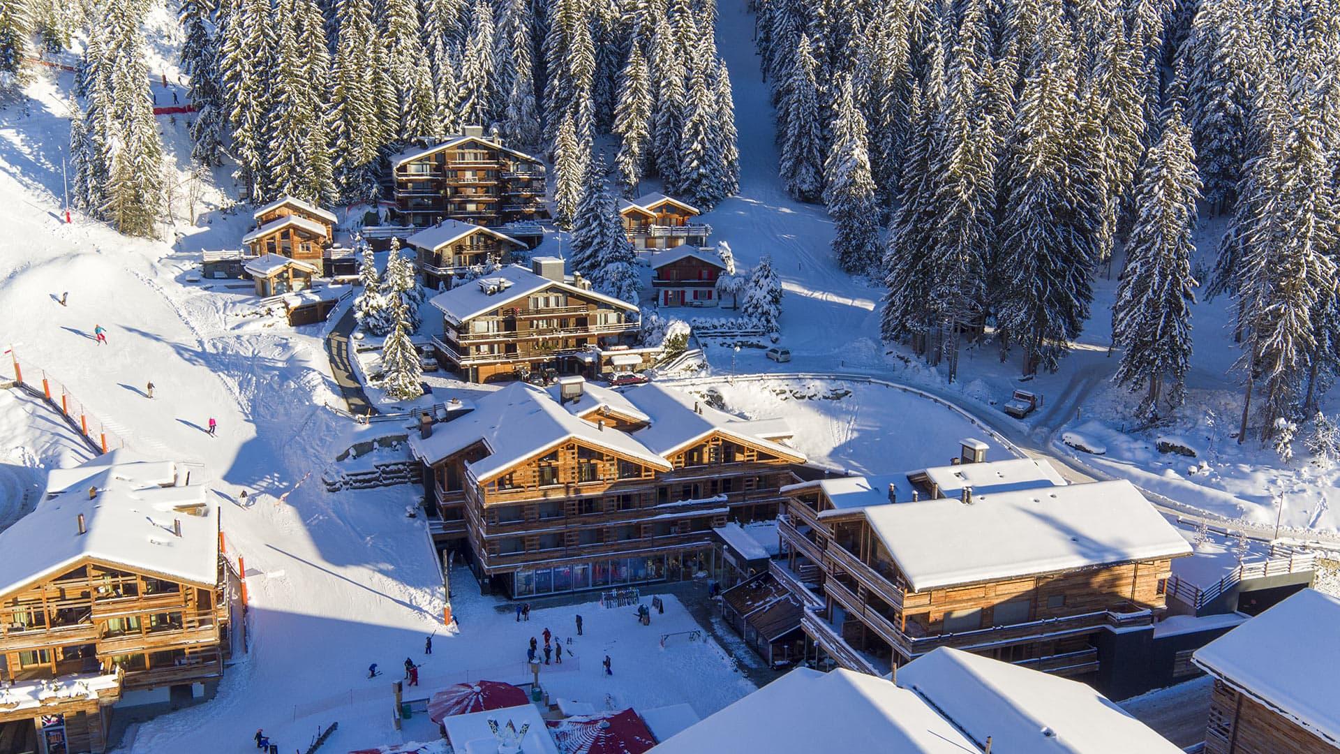 Villa Chalet Village, Location à Alpes suisses