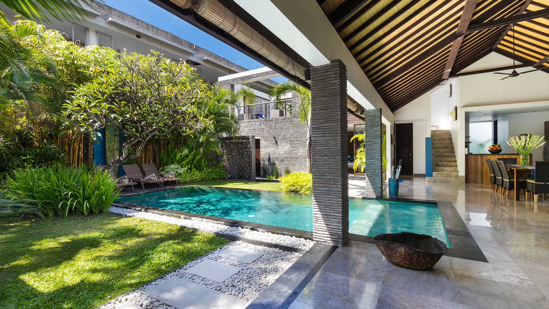 Villa Anjali villas, Location à Bali