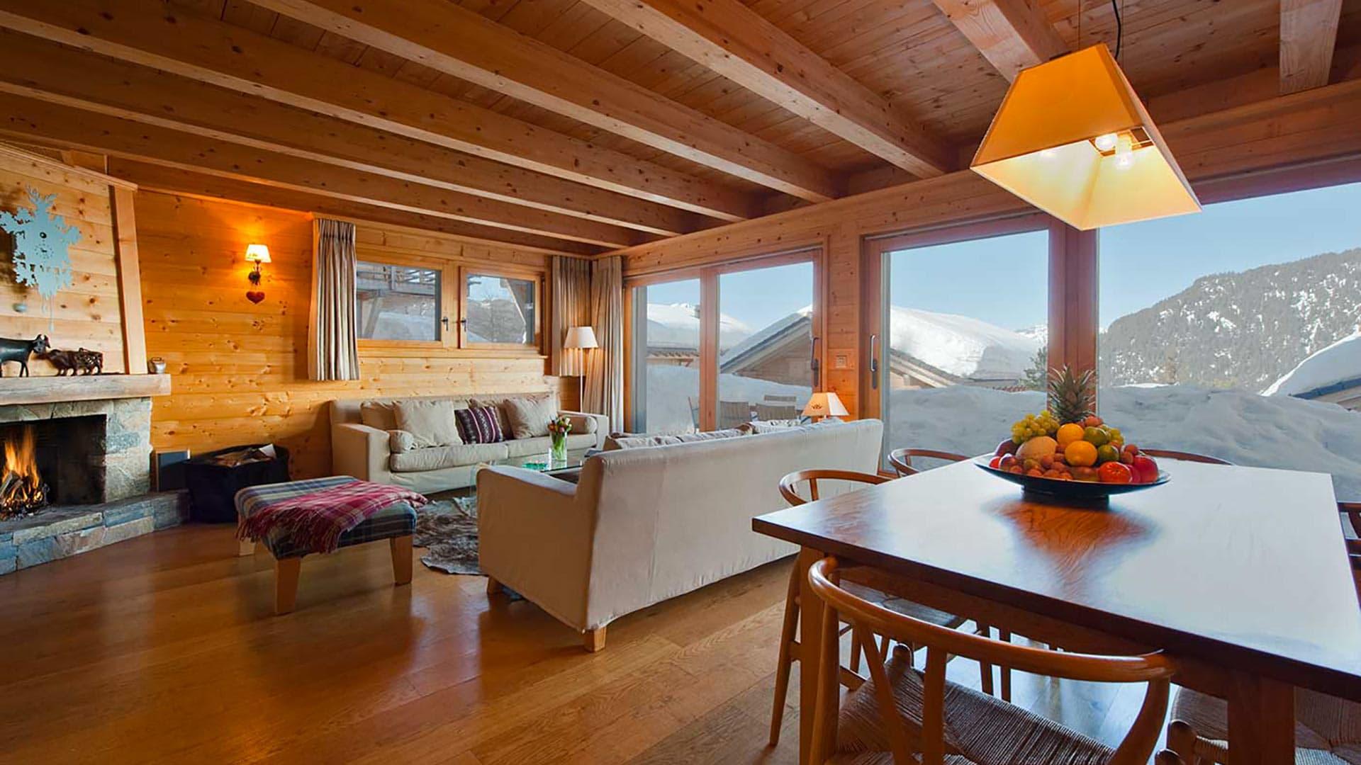 Villa Chalet Bony, Location à Alpes suisses