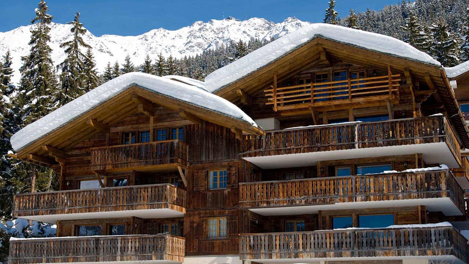 Villa Chalet Cascadia, Location à Alpes suisses