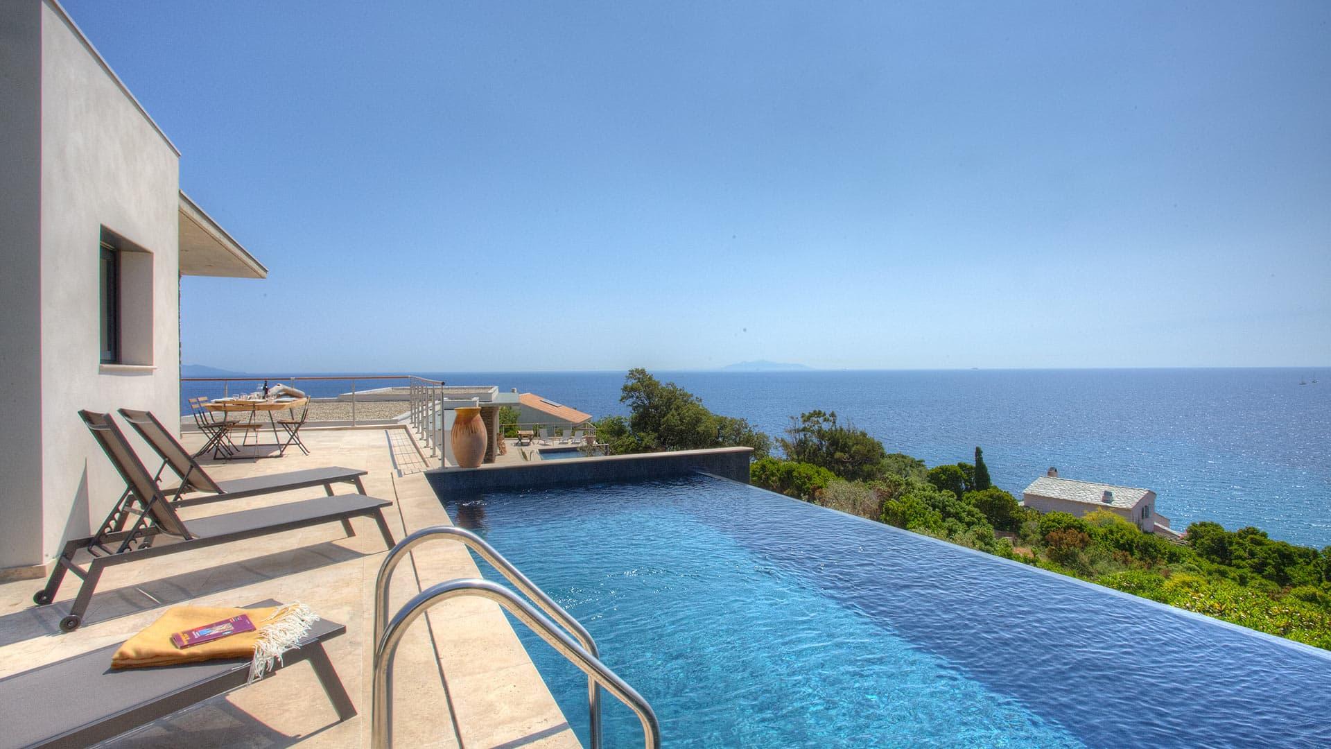Villa Villa Lune, Location à Corse
